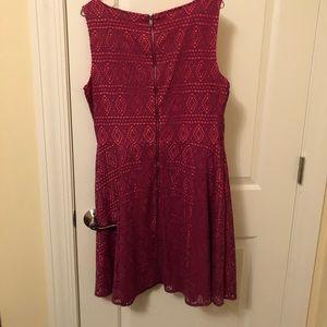 Marc New York pink women's dress, size 14